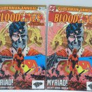 SUPERMAN Annual Blood Lines Outbreak 1993 #5 Two Books DC Comics