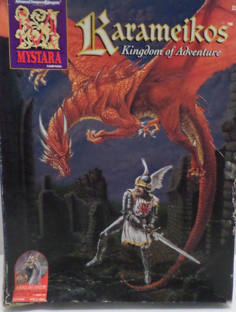 A D & D  Karameikos Kingdom of Adventure Mystara Campaign Computer Game