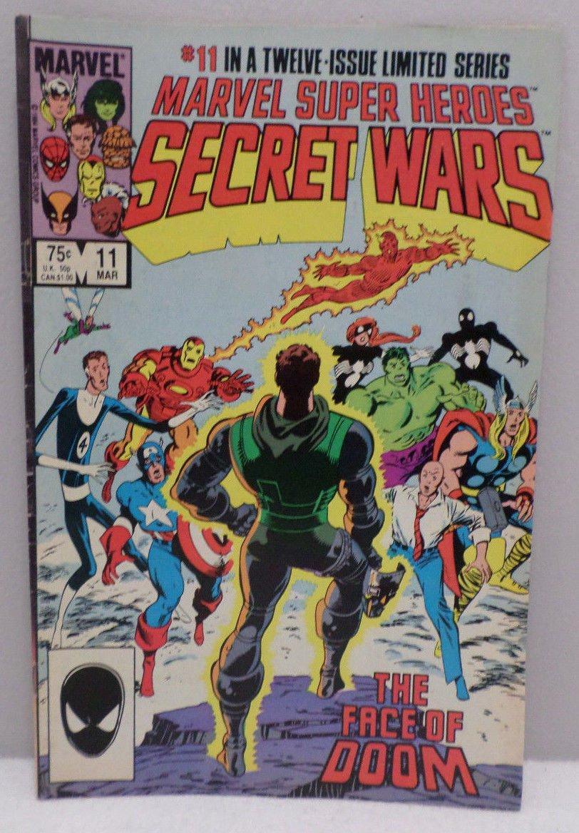 Secret Wars The Face of Doom # 11 March 1985 Comic Book Marvel Super Heroes