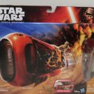 Star Wars Ray's Speeder Jakku and Ray Action Figure The Force Awakens Toy NIB