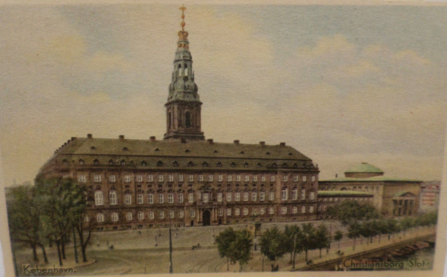 Vintage Postcards Denmark Travel Souvenir