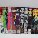 Ghost Rider 9 Books 1991, 1993, 1994, 1995 Marvel Comics Comic Books