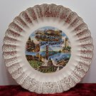Souvenir Collector Plate San Francisco California Vintage