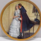 1986 Collector Plate The Unexpected Proposal by Norman Rockwell