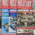 4 Military In Scale Magazines England Sept 2004 Oct 2004 June 2005 Sept 2007