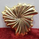 Jeri-Lou Scarf Clip Gold Tone Metal