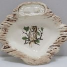 Ashtray Ceramic Owl Design Treasure Craft USA