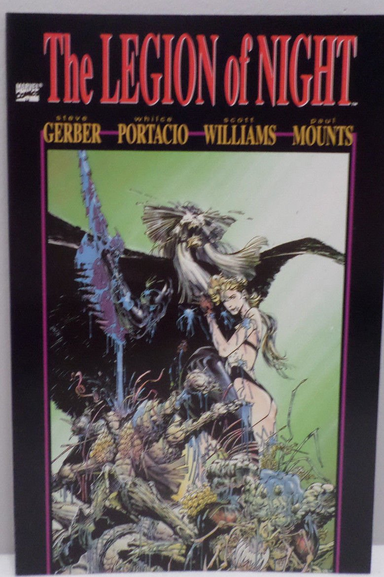 The Legion of Night Vol. 1 Issue 1 1991 First Printing Marvel Comics Comic Book