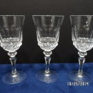 Cocktail Glasses Clear Crystal very Elegant