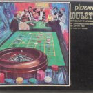 Pleasant Time Roulette Game Professional Style with Green felt Playing Field Vintage