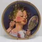 1983 Collector Plate Make Believe at the Mirror Norman Rockwell #12789J