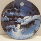Collector Plate Winter Passage by Don Ningewance #1965B Bradford Exchange