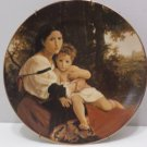 1979 Collector Plate Solance Et Enfant by William Bouguereau #07804