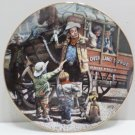 1986 Collector Plate The Desperadoes by Don Crook The Hamilton Collection
