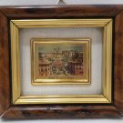 Wall Hanging Framed with Glass Front Roma Piazza Di Spagna Doll House