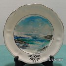 Collector Plate Cancun Mexico Original Oil Painting Artist Signed Miniature
