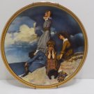 1983 Collector Plate Waiting on Shore by Norman Rockwell  #3886AA
