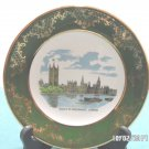 Collector Plate Houses of Parliament Royal Falcon Weatherby London Porcelain