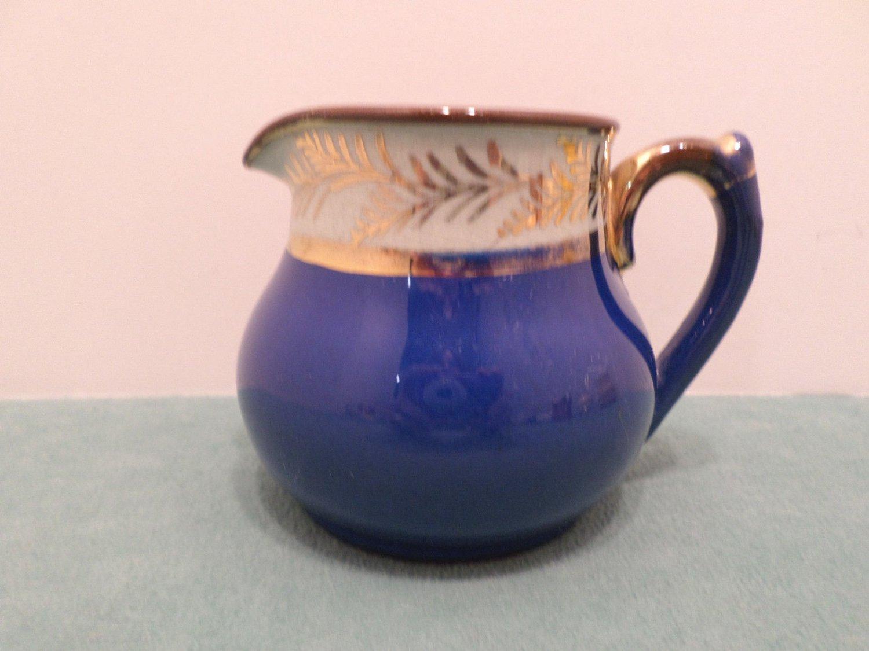 Vintage Creamer Brown Stone Pottery