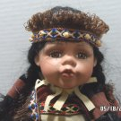 Porcelain Doll Southwestern Style by Goldenvale