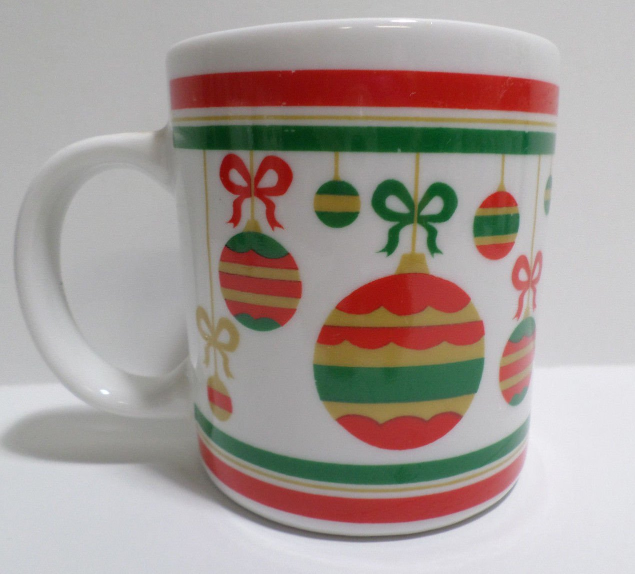 Christmas Collector Coffee Mug Cup Ornaments by Finest Ceramics