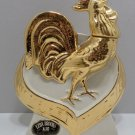 Ezra Brooks Rooster Bottle Decanter 1970