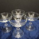 Bar ware Glasses Clear Glass Set of 4 Stemware