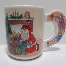Christmas Collector Coffee Mug Cup Santa Claus putting gifts under the tree WCL