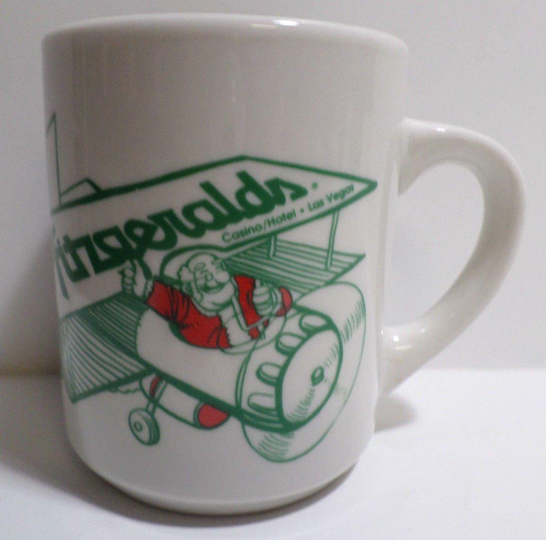 Collector Coffee Mug Fitzgerald's Casino Hotal Las Vegas Happy Holiday Christmas
