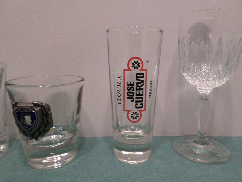 Shot Glasses Jose Cuervo Old No. 7 and More 6 pcs