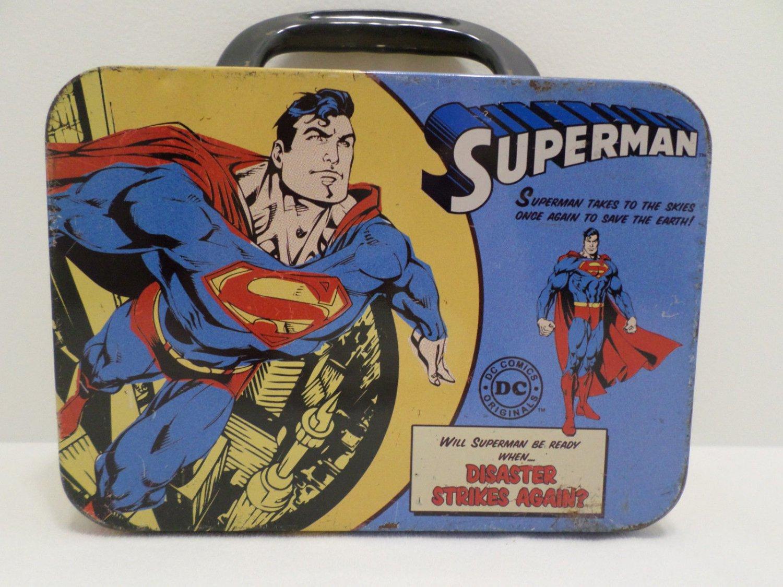 D.C. Comics Original Superman Lunch Box Metal