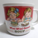 Collector Coffee Mug Campbell's Soup Mm Mm Good 1989 Westwood International