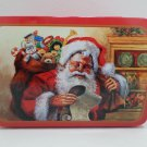 Christmas tin Santa Claus design Greenbrier International