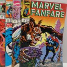 Marvel Fanfare 1990 #49, #50, #53, #54 Marvel Comics Comic Books