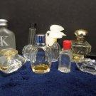 Vintage Perfume Bottles Miniature Empty 8 pcs Lancome Givenchy