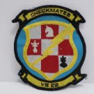 Jacket Patch V5-22 Checkmate US Navy Lockhead 5-3 Viking 5-2 Tracker Squadron