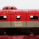 Marx Train Caboose Red Metal O Scale NYC