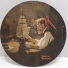 1980 Collector Plate The Ship Builder by Norman Rockwell 15472X