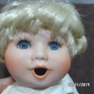 1989 Porcelain Doll by Artist Holly Hunt 632/2500 for Parts