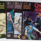 Cinder and Ashe Book #1 Through #4 1988 DC Comics Comic Book