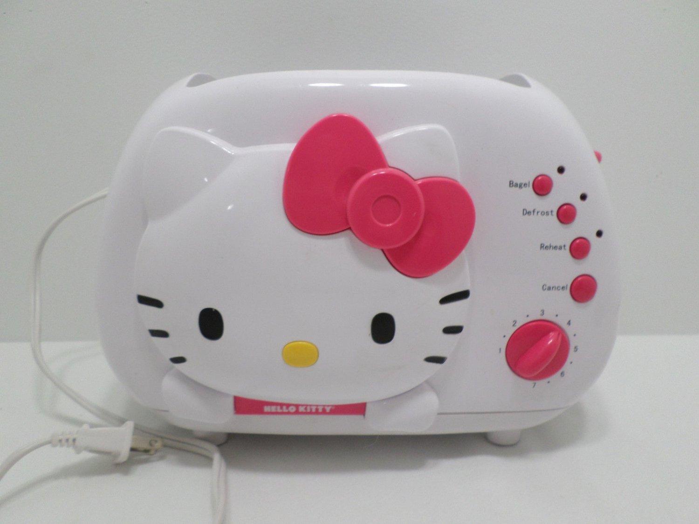 Hello Kitty Toaster Bread Bagel Defrost Reheat White