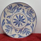 Saucer Evandale Stoneware Hand Painted Blue Bird Design