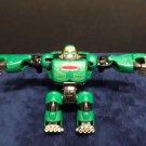Green Transformer Robot Action Figure