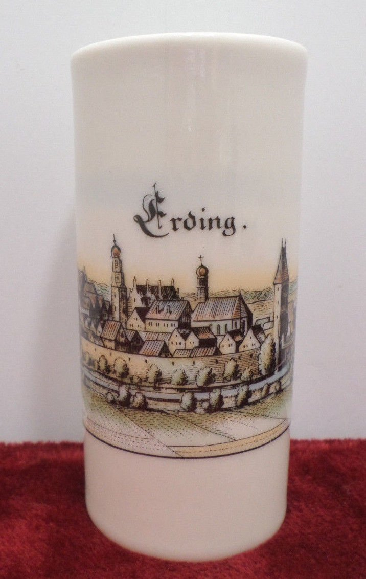 Flower Vase Erding Plankenfels Porellan Bavaria Made in Germany