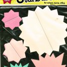 Neon Starbursts for school, home, office Pack of 30