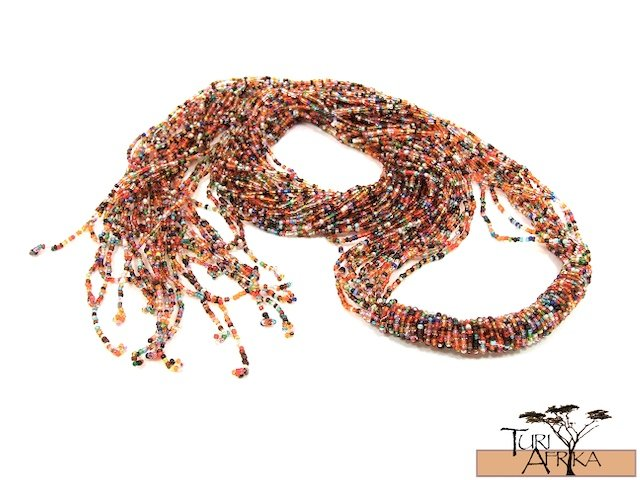Product ID: 36     Beaded Belts / Necklace (Multicolored)