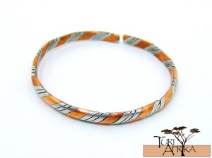 Product ID: 83     2 Color Twisted Copper Bracelet