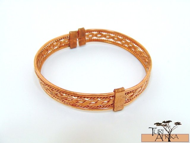 Product ID: 86     1 Color Copper Wire Flat Designed Bracelet