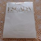 Vintage ESCADA Margaretha Ley Sheer Glamour Pantyhose sz 1 38 40