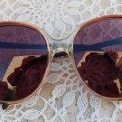 Vintage Eyeglass Frames CARLA Red Black Retro Sunglasses 1970s Womens